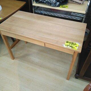 無印良品☆デスク テーブル 天然木 タモ材☆買取帝国 朝霞店