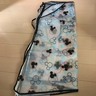 【used】Disney ベビーカー レインカバー