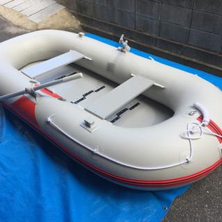 【お取引中】アキレスゴムボート 装備充実