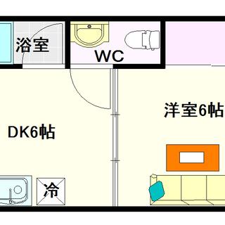 【沢村マンション】D号タイプ!1DKタイプ!堀江も近くてい…