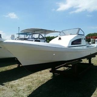 中古艇 ヤマハ 23フィート ドライブ船