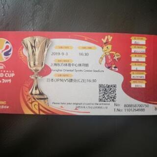 バスケ ワールドカップ 日本×チェコ戦 in上海 1枚のみ