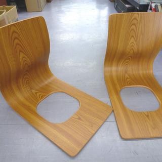 PayPay可 手稲リサイクル 天童木工 座椅子2枚セット 和風...