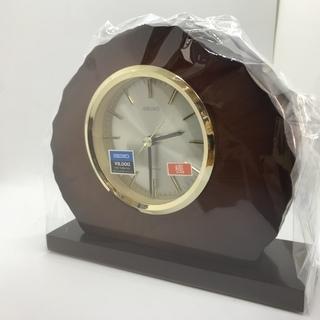 【新品・未使用】 置時計① SEIKO 定価から7割引き以…