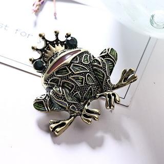 【発送は+185円】童話「カエルの王様」モチーフ ラインストーン...