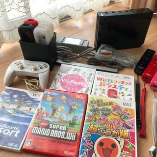 Wii めっちゃお得やんセット🌟本体+付属品+ソフト 値引しました❗️