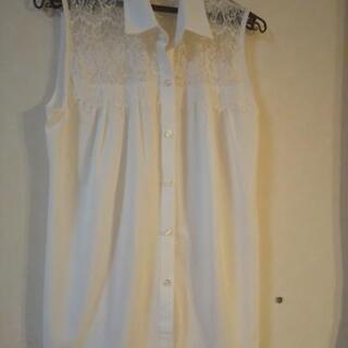 【美品です】titivate ノースリーブシャツ フリーサイズ