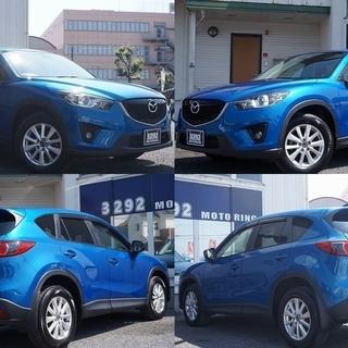 CX-5 ブルー 高年式SUV!
