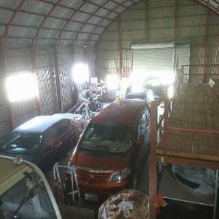 レンタルガレージ、レンタルピット 貸し倉庫、  車の軽整備、修理...