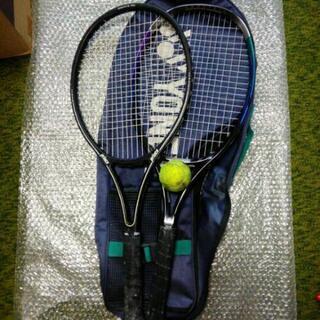 テニスラケット2本 ヨネックス プリンス