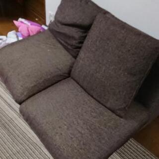 【あげます】二人掛けソファー