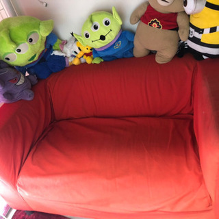 IKEA2人がけソファ8月30日まで