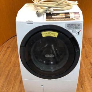 美品2017年製 HITACHI ドラム式 電気洗濯乾燥機 BD...