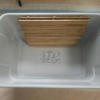 CHUMS特大ステッカー付き収納ボックスとオリジナル天板のセット − 栃木県