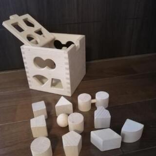 木製パズル 型はめパズル