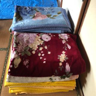 旅館で使用していた毛布12枚