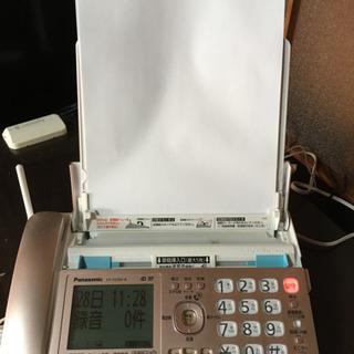 中古 美品 留守番FAX電話 パナソニック KX-PZ300-N