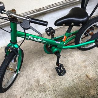 子供用 自転車 補助輪パスして ラクショーライダー 14インチ