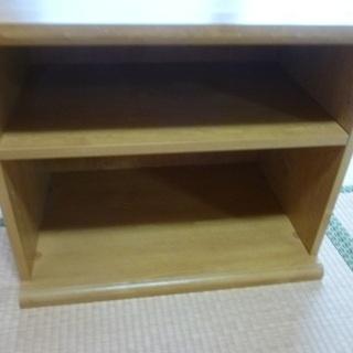 差し上げます!テレビ台、仏壇を置いても?木製です。明日29日の夕...