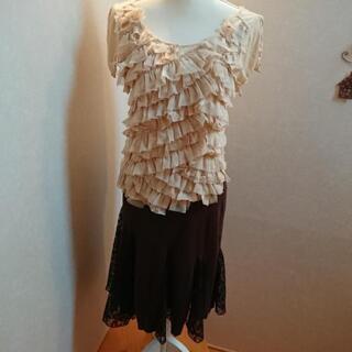 イマージュ茶色スカート