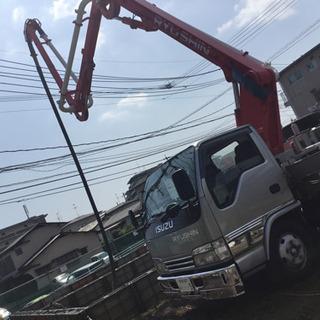 【生コンクリート圧送作業員募集‼︎】車両の運転及び、コンクリート...