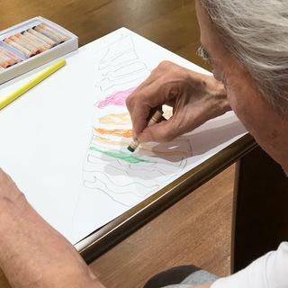認知症、障がいがある、ひきこもり、不登校児の方向け。アートを学ぶ...