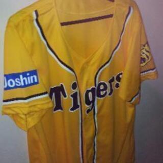 ジョーシン限定ロゴ入り阪神応援ユニフォームLと、Mの2着値下げしました