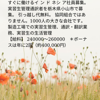 【インドネシア人通訳翻訳】