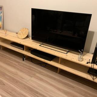 【取引中】手作り テレビボード
