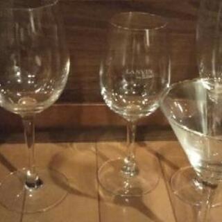 (お取り引き中)【無料】ワイングラス&カクテルグラス&耐熱性ガラ...