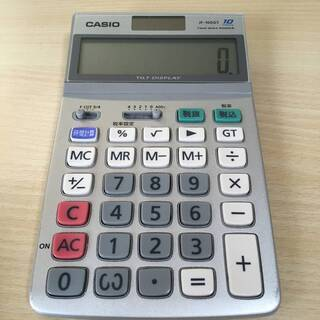 カシオ スタンダード電卓 時間・税計算 ジャストタイプ 10桁 ...