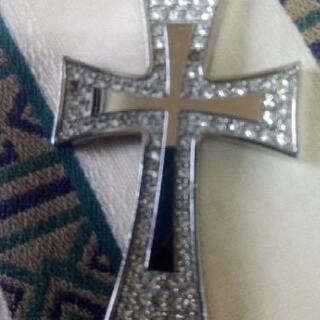 激安❢②委託品❢Folli Follieクロス十字架ネックレスト...