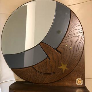 お月様の鏡