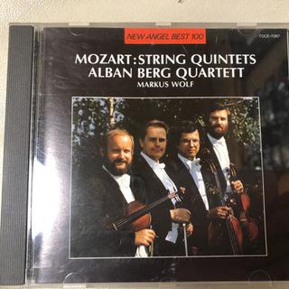モーツァルト 弦楽五重奏曲第3番&第4番