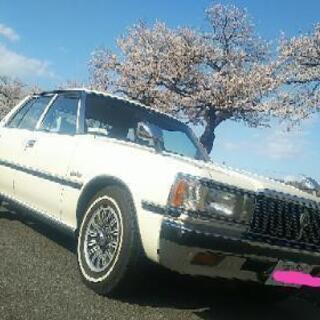旧車!昭和57年式トヨタ・クラウンセダン