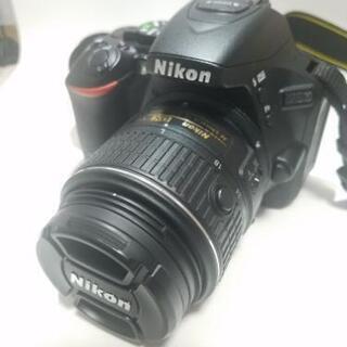 一眼レフ Nikon D5500+単焦点レンズ