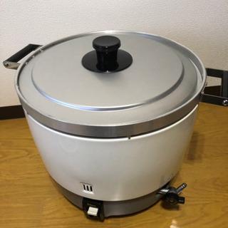 ジャンク品 パロマ 業務用ガス炊飯器【PR-6DSS】未使用品