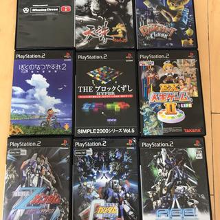 PS2 ゲームソフト9本まとめ売り(中古)【値下げ10/31】