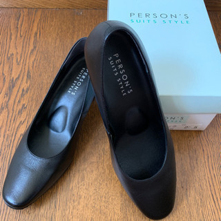person's 就活用パンプス