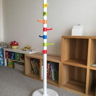 IKEAの子供用洋服スタンド