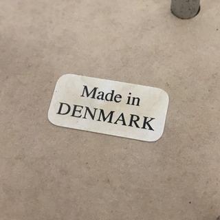 デンマーク製サイドテーブル ホワイト #家具 - 売ります・あげます