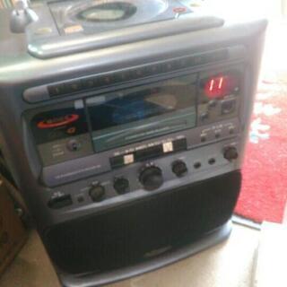 現状 コロムビア カラオケデッキ CD カセット