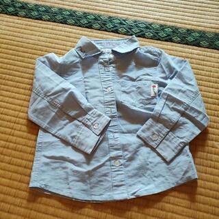 女の子100長袖シャツ