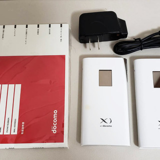 ドコモ Xi対応モバイルルータ L-09C×二個セット
