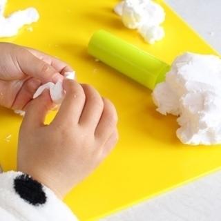 自分で作るから練習が楽しく身に付きます 『小麦粘土でお弁当お箸の...