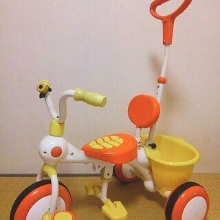 子供用 三輪車 室内のみ使用 かじとり棒 ガード 男の子 女の子