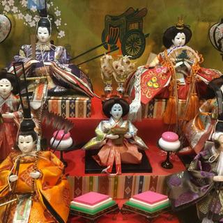 三段飾り7人雛人形