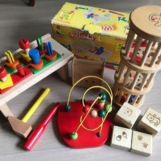 ネマー NEMMER○木製玩具○工具セット.ラトル.ブロック.ド...