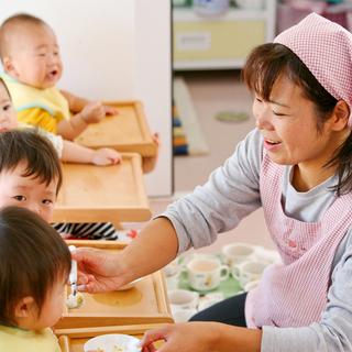 【保育園のパート保育補助】平日9:00~16:30固定勤務(土日...