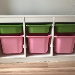 IKEA おもちゃ箱 収納棚
